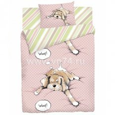 Детское постельное белье Милый пес (бязь-люкс)