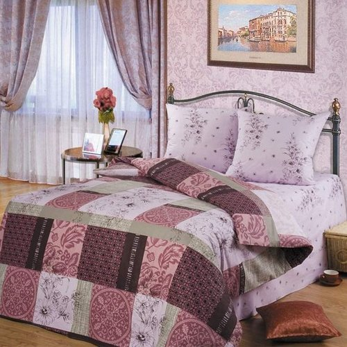 Постельное белье Романтика Альпия (перкаль)