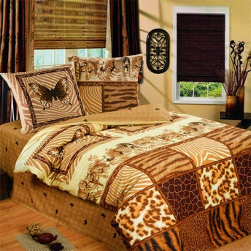 Постельное белье Любимый дом Тигровые бабочки (бязь-гост)