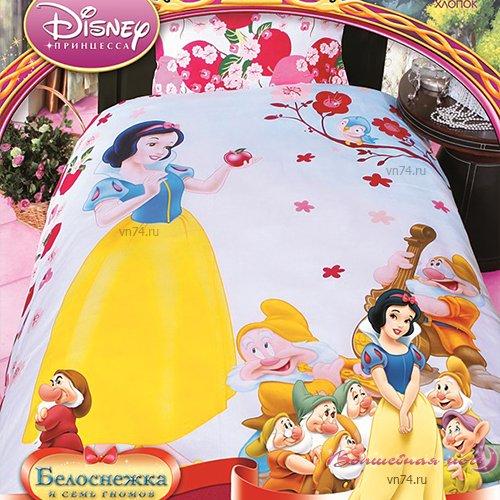Детское постельное белье Mona Liza Белоснежка (бязь-люкс)