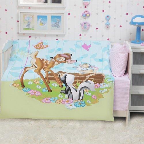 Детское постельное белье Mona Liza Бемби и Друзья (бязь-люкс)