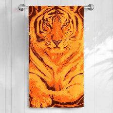 Полотенце махровое Самойловский Текстиль Тигр 1