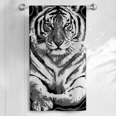 Полотенце махровое Самойловский Текстиль Тигр 2