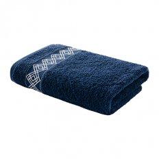 Полотенце махровое Самойловский Текстиль Торонто Темно-синий