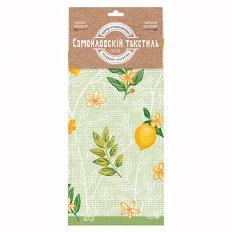 Полотенце вафельное Самойловский Текстиль 35x70 Лимонный сад 2