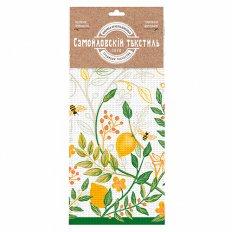 Полотенце вафельное Самойловский Текстиль 35x70 Лимонный сад