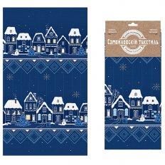 Полотенце вафельное Самойловский Текстиль 35x70 Снежный вечер 2