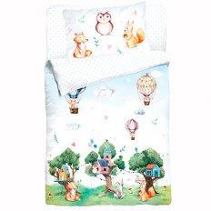 Детское постельное белье Облачко Forest (бязь-люкс)