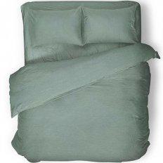 Простыня на резинке Absolut Emerald (сатин-диагональ)