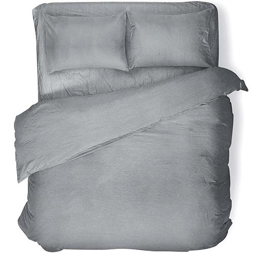 Простыня Absolut Silver (сатин-диагональ)