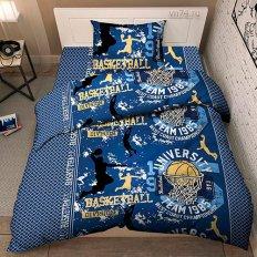 Детское постельное белье Тинейджер Твой стиль Баскетбол 9381/1 (бязь-люкс)