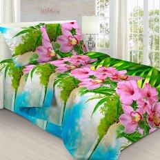 Постельное белье Анастасия Остров орхидей (бязь-гост)