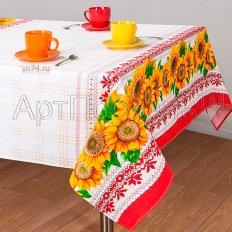 Скатерть столовая Арт-Постель Хуторянка (рогожка)