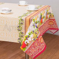 Скатерть столовая Арт-Постель Изобилие (рогожка)