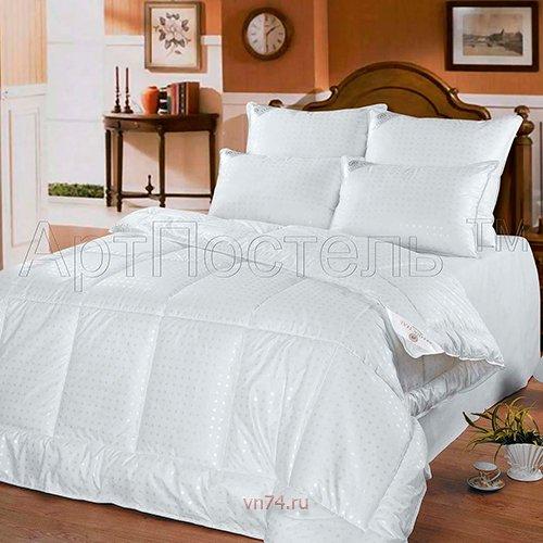 Одеяло всесезонное Арт-постель Лебяжий пух Премиум тик