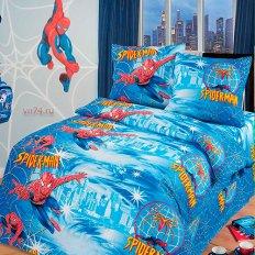 Детское постельное белье Арт-постель Человек-паук (бязь-люкс)