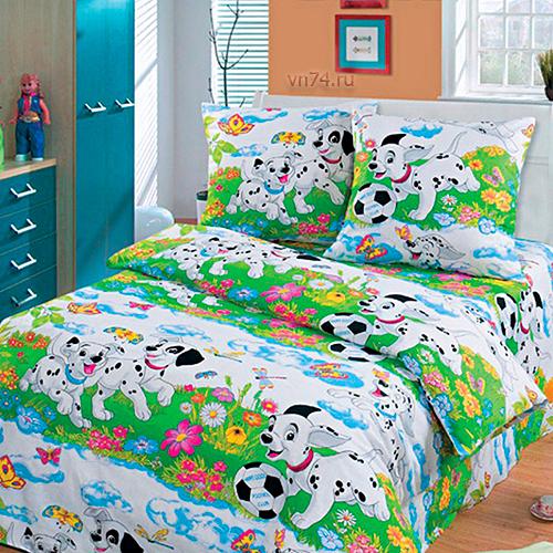 Детское постельное белье Арт-постель Далматинцы б/з (бязь-люкс)