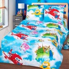 Детское постельное белье Арт-постель Воздушный патруль (бязь-люкс)