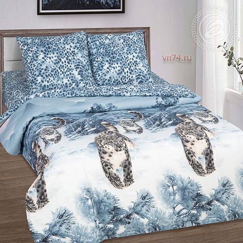 Постельное белье Арт-постель Снежный барс (поплин)