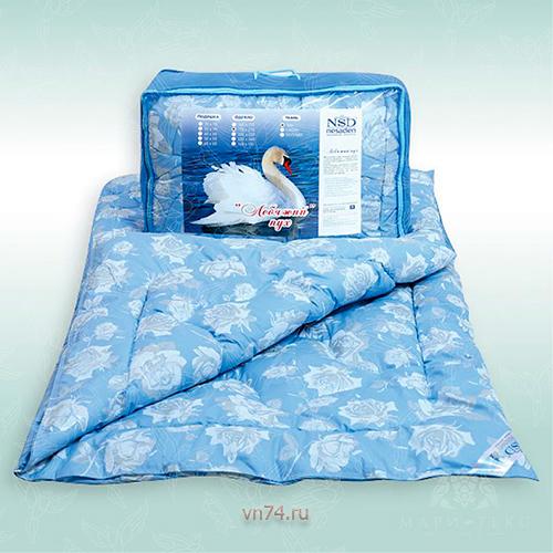 Одеяло облегченное NeSaDen лебяжий пух