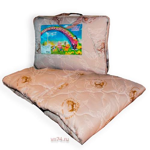 Детское одеяло облегченное NeSaDen верблюжья шерсть
