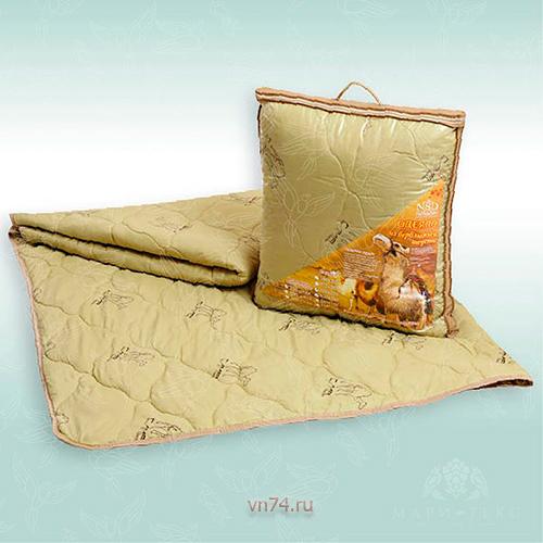 Одеяло облегченное NeSaDen овечья шерсть в чемодане