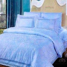 Постельное белье Arya CASALINGA голубой (жаккард)