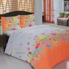 Постельное белье Arya Classi GARDENIA оранжевый (бязь-люкс)