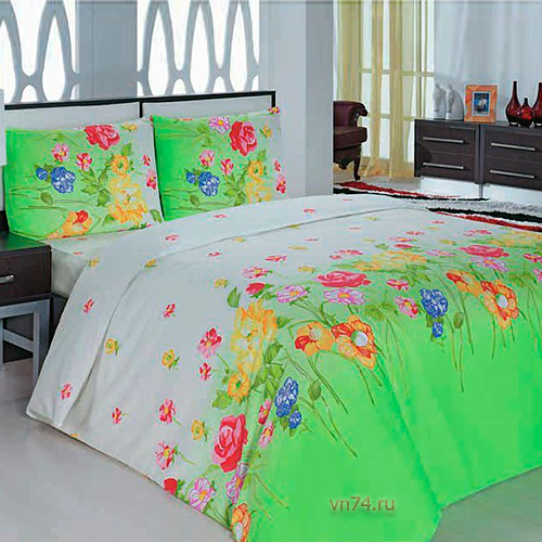 Постельное белье Arya Classi GARDENIA зеленый (бязь-люкс)