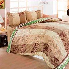 Постельное белье Arya Classi SAHIKA коричневый (бязь-люкс)