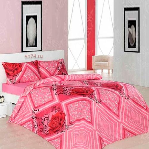 Постельное белье Arya Classi SELIN розовый (бязь-люкс)