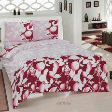 Постельное белье Arya Classi SOFIA красный (бязь-люкс)