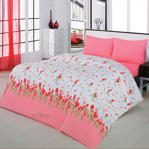 Постельное белье Arya Classi YASMIN красный (бязь-люкс)