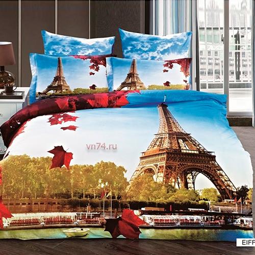 Постельное белье Arya Eiffel (сатин)