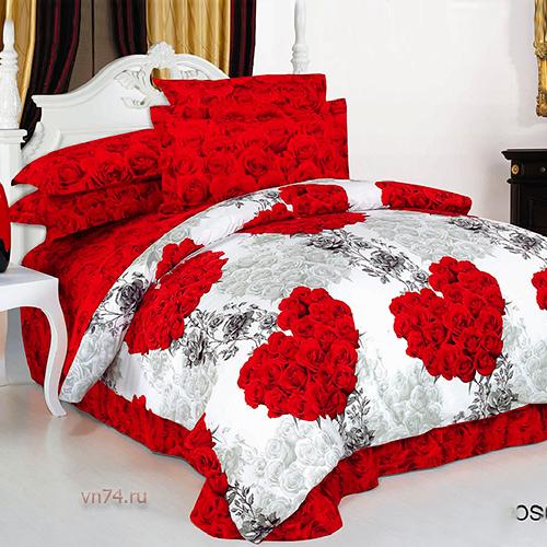 Постельное белье Arya HEART ROSE (сатин)