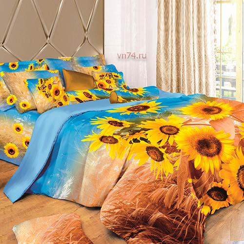 Постельное белье Arya Sun Flower (сатин)