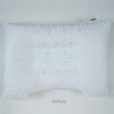Подушка Здоровый сон эколайф с терапевтическими камнями В-02 (сатин)