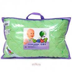 Детская подушка стеганная бамбуковое волкно ПСБч-612у (микрофибра)