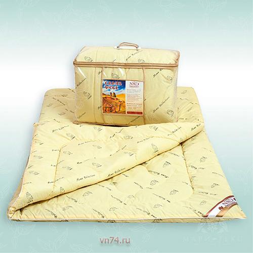 Одеяло классическое эконом NeSaDen верблюжья шерсть