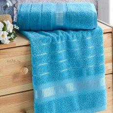 Полотенце махровое Nusa Elegans бирюзовый