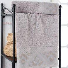 Полотенце махровое Nusa Hermes серый