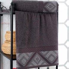 Полотенце махровое Nusa Hermes темно-серый