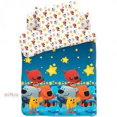 Детское постельное белье Ми-ми-мишки Ночное небо (поплин)
