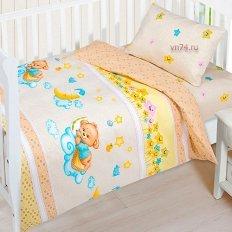 Детское постельное белье Арт-постель Баиньки (бязь-люкс)