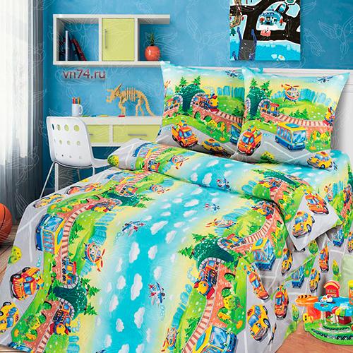 Детское постельное белье Арт-постель Детский парк (бязь-люкс)