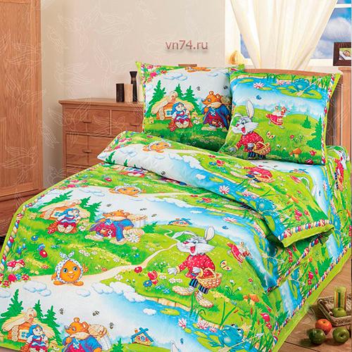 Детское постельное белье Арт-постель В гостях у сказки (бязь-люкс)