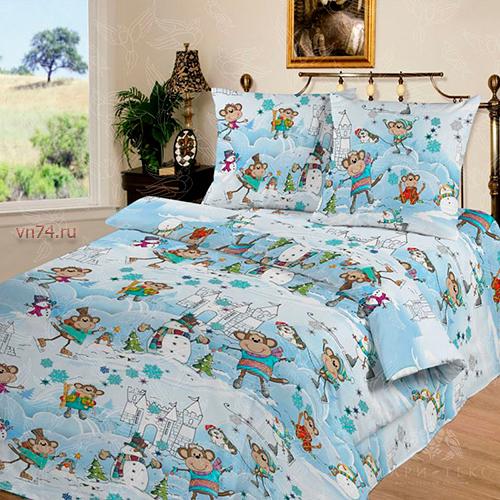 Детское постельное белье Арт-постель Веселая компания (бязь-люкс)