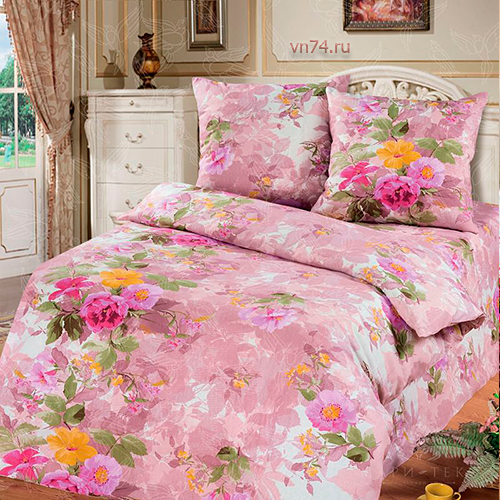 Постельное белье Арт-постель Аромат лета роз. (бязь-люкс)