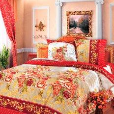Постельное белье Арт-постель Зима-Лето Гобелен красный (бязь-люкс)