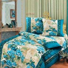 Постельное белье Арт-постель Гобелен синий (бязь-люкс)